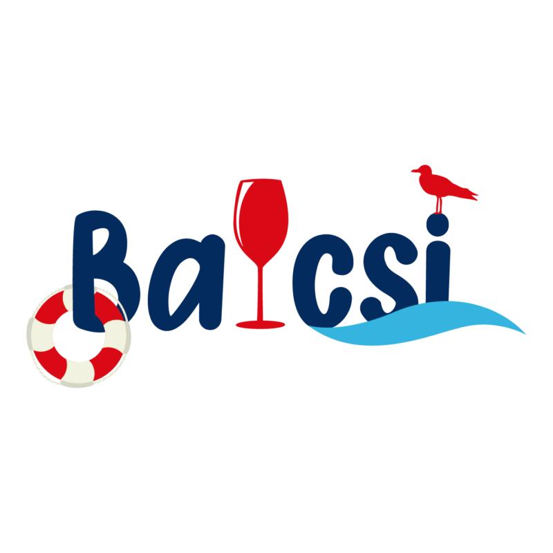 BALCSI   grafikás női pamutpóló