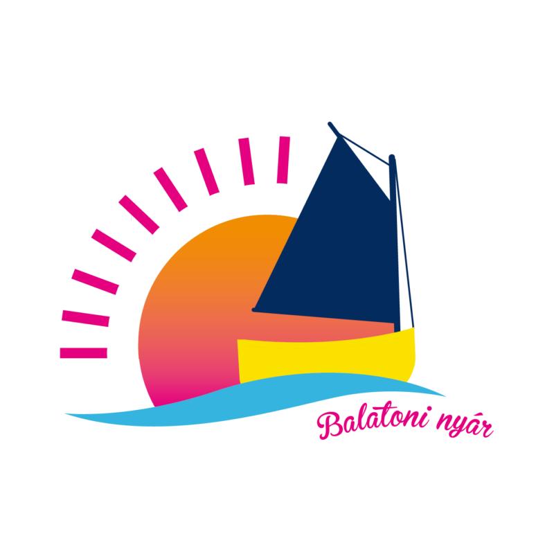NAPOS BALATON NŐI   grafikás vászontáska