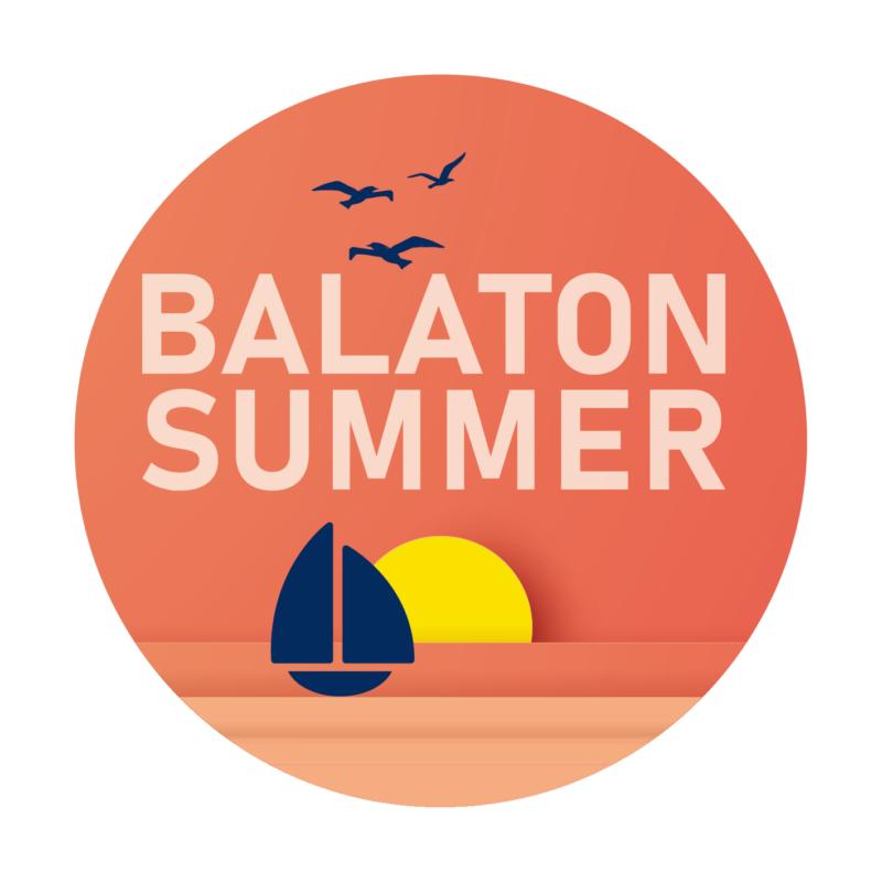 BALATON SUMMER   grafikás női pamutpóló