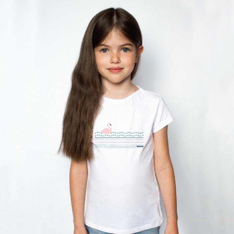 HATTYÚ balatoni | grafikás lány pamutpóló
