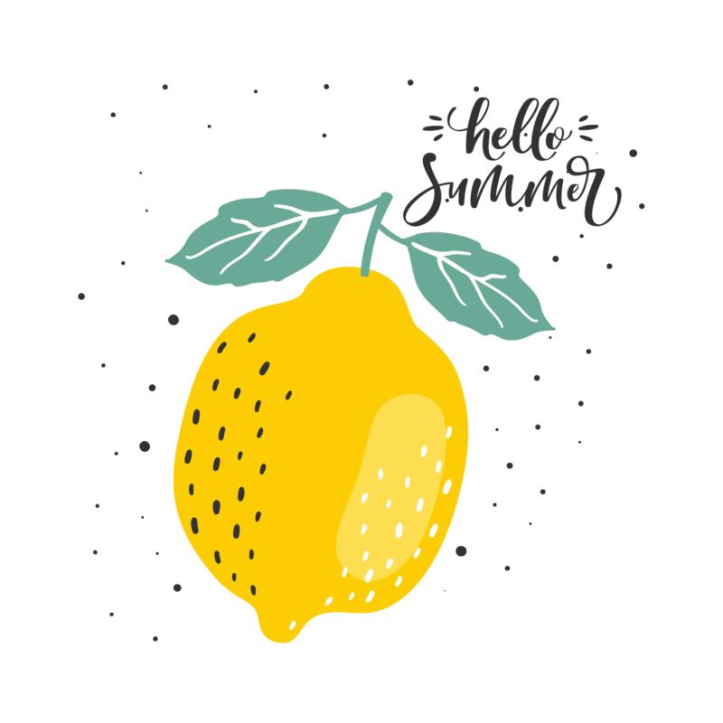 Citom - hello summer | grafikás lány pamutpóló
