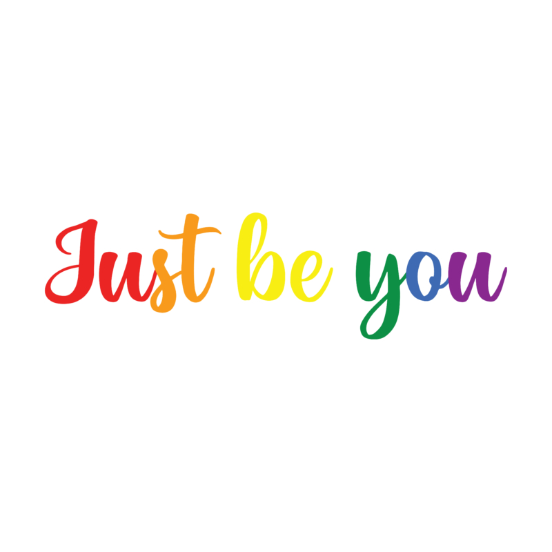 Just be you   grafikás női pamutpóló