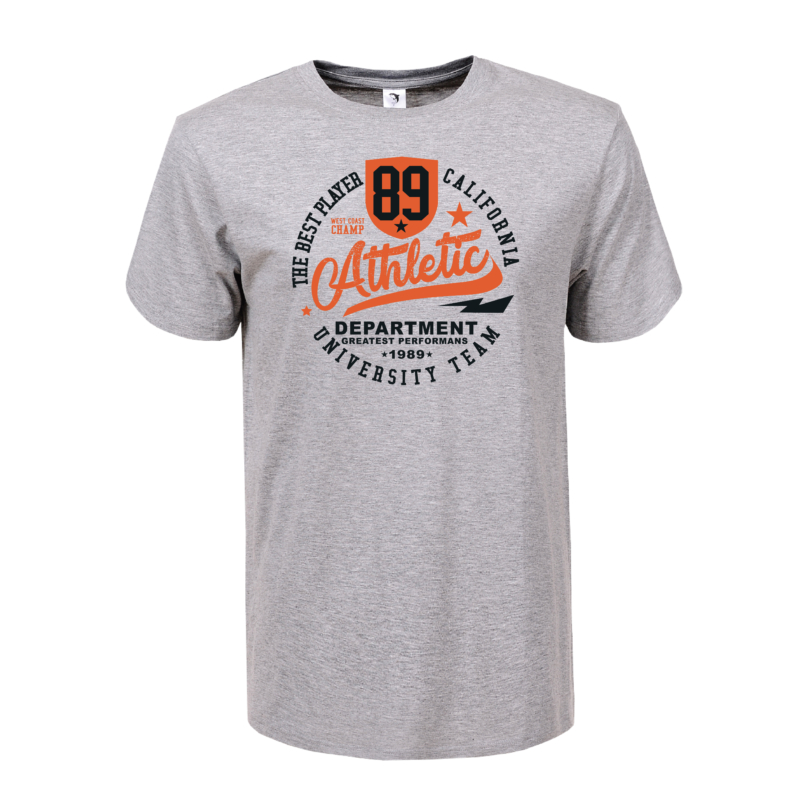 Athletic 89 | university stílusú férfi póló