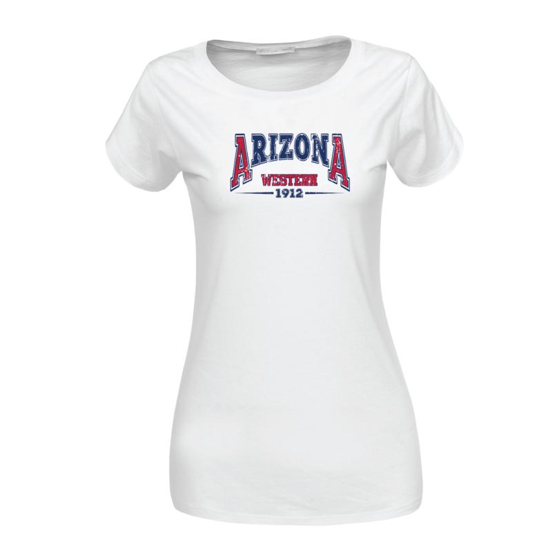 Arizona | vintage university stílusú női póló