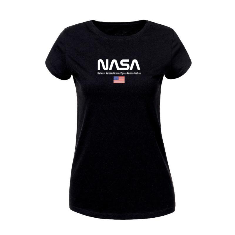 NASA & USA | grafikás női pamutpóló
