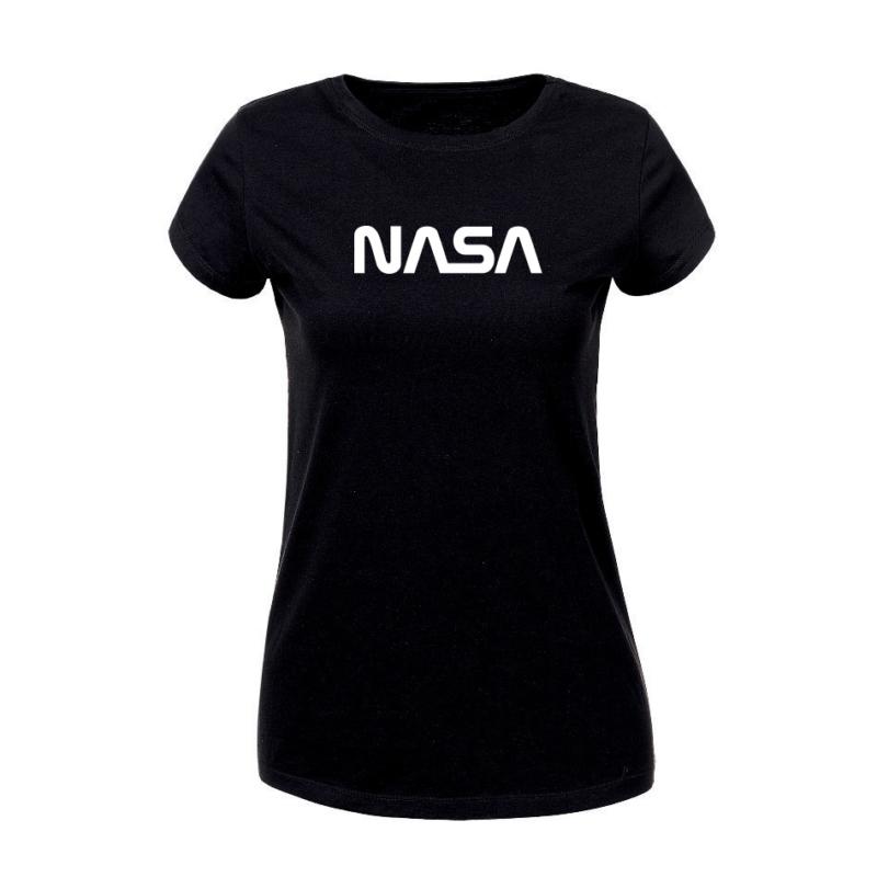 NASA   grafikás női pamutpóló