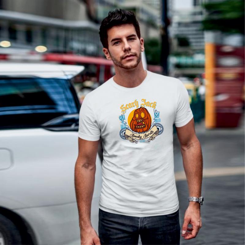 SCARY JACK | grafikás férfi póló