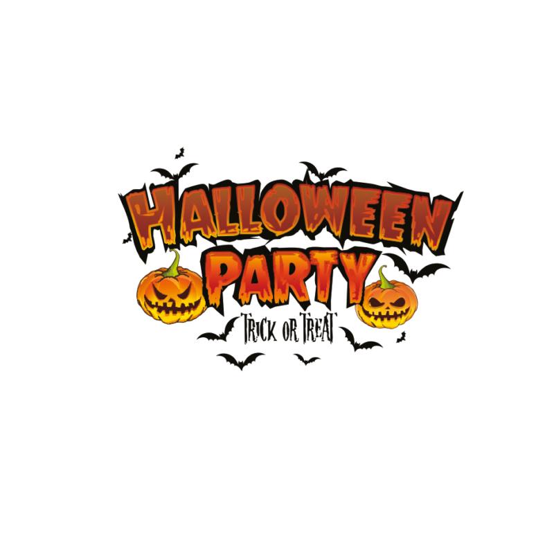 Halloween party   grafikás vászontáska