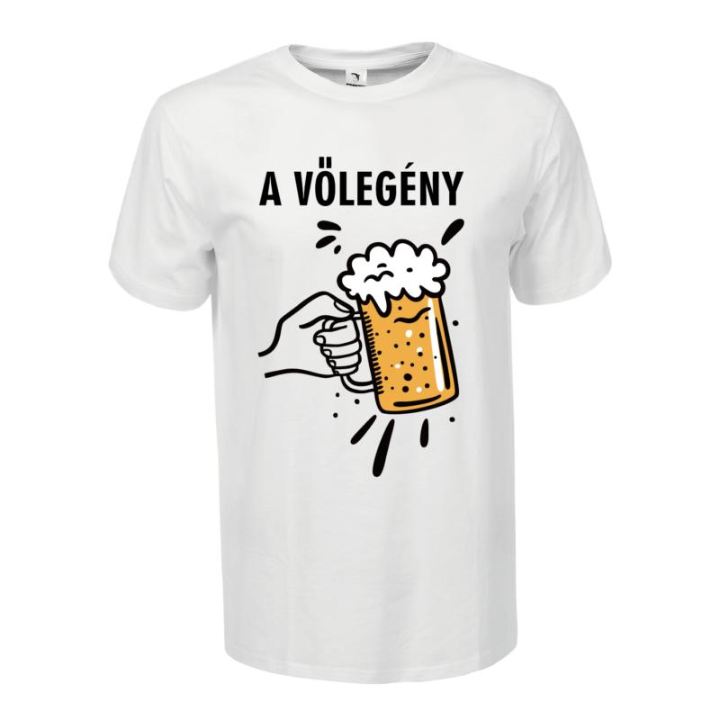 A vőlegény | grafikás férfi póló