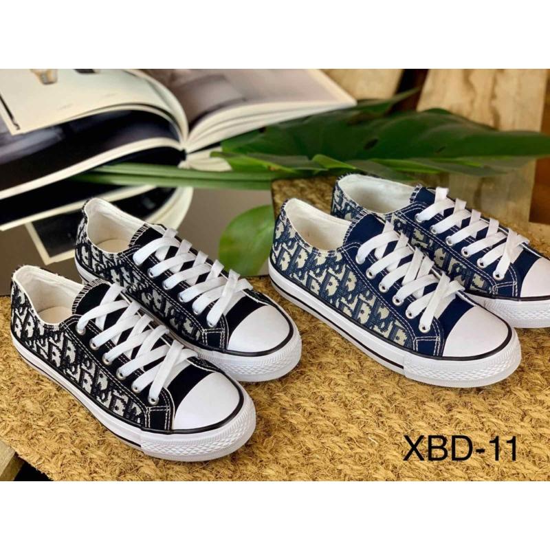 Női mintás vászon cipő XBD-11 | Női cipő