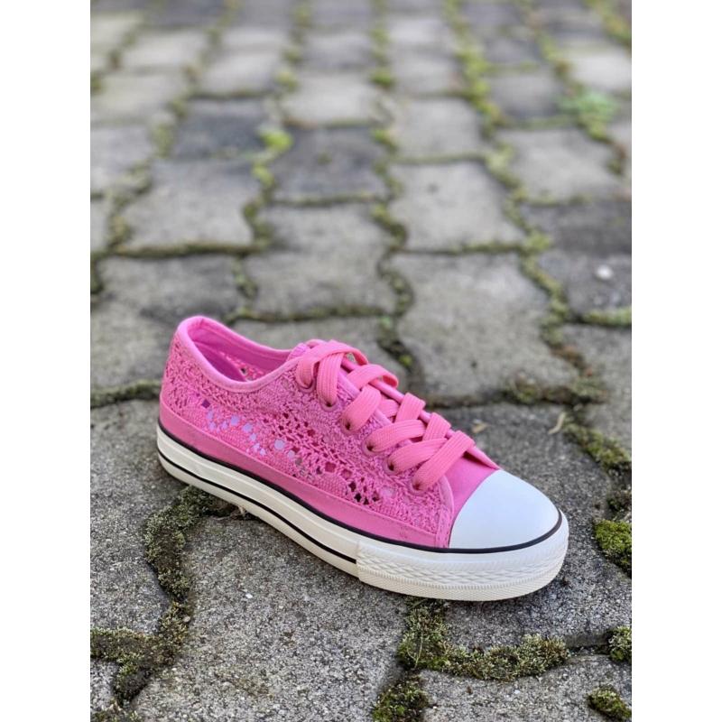 Női csipkés vászon cipő XBD-3   Női cipő